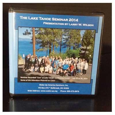 Lake Tahoe Seminar (2014)
